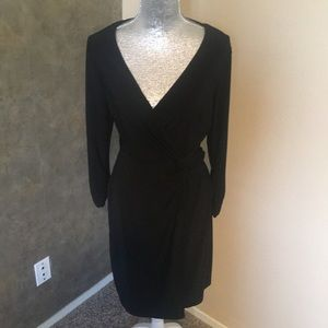 Whit house black market wrap dress
